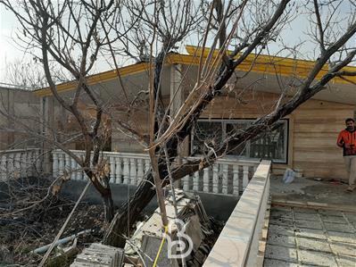 500 متر باغ ویلا نقلی در کردزار