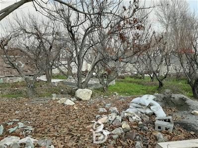 900 متر باغ خام در ابراهیم اباد