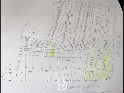 قطعات 1000 متری 2000 هزار متری با مجوز ساخت