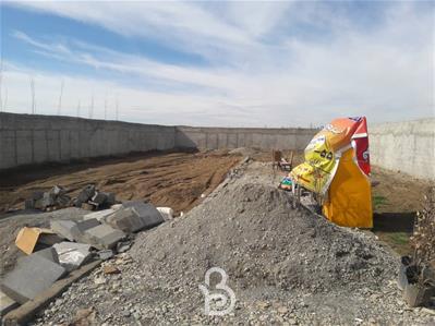 باغچه 1000متری 4دیواری در شهریار