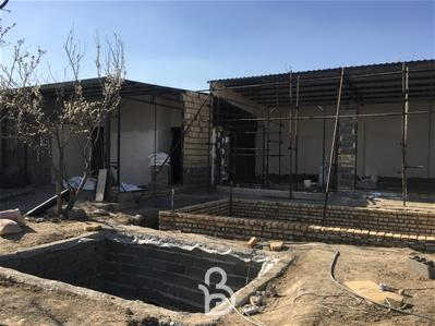 710متر باغ ویلا جدید و مهندسی ساز در شهریار
