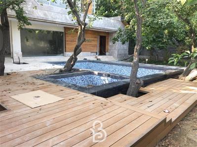 اجاره باغ ویلای لاکچری 1000متر با 120متر بنای دوبلکس در کردزار